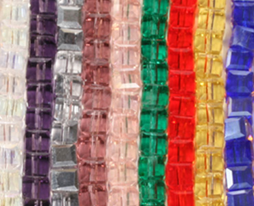 Category Chinese Crystal Cube Beads