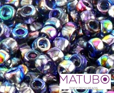 Category Matubo Czech 8/0 Pressed Seed Beads