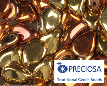 Category Czech Pip Pressed Beads