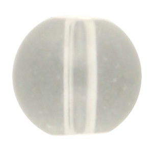GB243T std cols round pressed transparent glass beads - standard colours