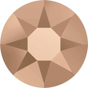 HF2S sem Swarovski Hotfix Xilion Rose - crystal rose gold