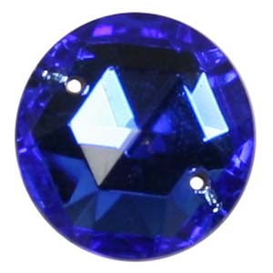 ES3-5&nbsp;glass embroidery stone  -sapphire