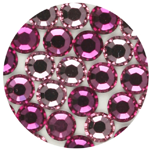 JS15S mixed - Swarovski Xilion rose flatbacks -  mixed colours