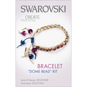 S-KIT1 Swarovski dome bead bracelet kit