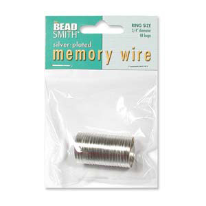 S133-2 memory wire ring silver
