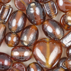 BP35 - small lustre glass beads mix
