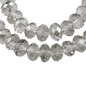 CRB3-95 puffy rondelle Platinum