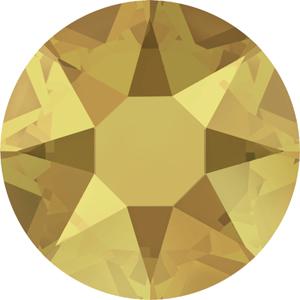 JS28S-75 Swarovski Xirius rose flatbacks - NEW crystal metallic sunshine