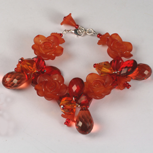 kit 148 Kit 148 Flower Cluster Bracelet & Earrings
