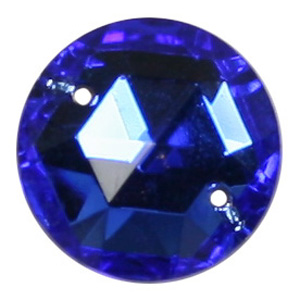 ES6-5&nbsp;glass embroidery stone  - sapphire