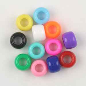 PB6 S pony beads opaque - single colours