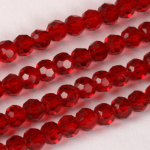 CRB19 Standard facetted round crystal beads - standard colours