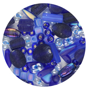 HPM Hot Pot mixed glass beads