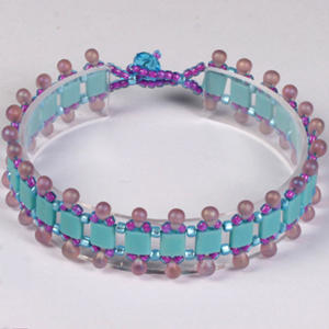 WS37-JUN2 NEW Intro to Tila Beads - Bracelet & Earrings: Tuesday 18 June 10 30 am - 12 30 pm