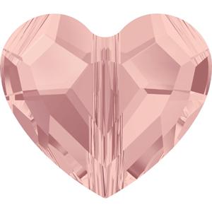 CGB52S-141 NEW Swarovski love bead - blush rose