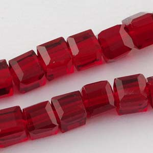 CRB21-17 crystal faceted cubes - siam