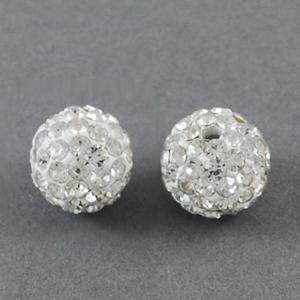 CSBC8-1 Crystal rhinestone beads/shamballa beads