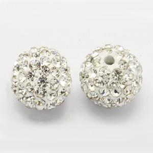 CSBA6-1 Grade A crystal rhinestone beads/shamballa beads