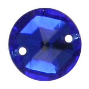 ES1-5 glass embroidery stone  - sapphire