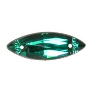 ES10-3&nbsp;glass embroidery stone  -emerald