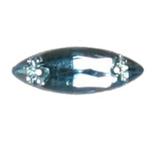 ES10-4&nbsp;glass embroidery stone  -aquamarine