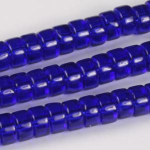 GB245T std colsrondelle pressed transparent glass beads - standard colours