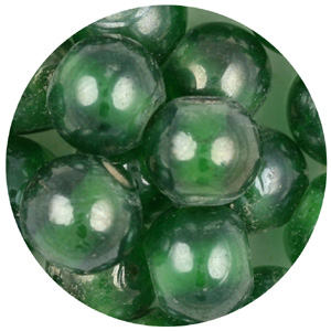 GB86  8'' string glass bead lustre