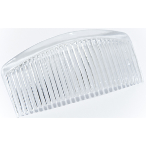 JF220 Clear plastic hair combs - extra long