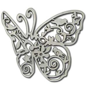ME73 butterfly pendant