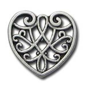 ME92 filigree heart