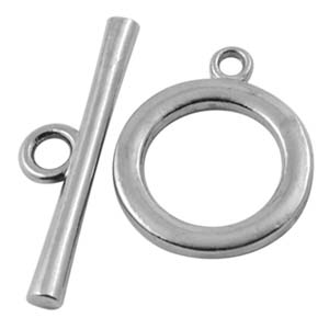 MEC88large round toggle clasp