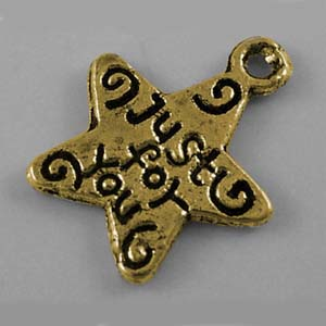 MEP39-1 star pendant - just for you - gold