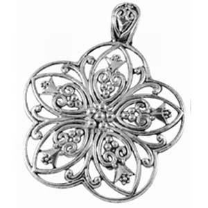 MEP49flower pendant