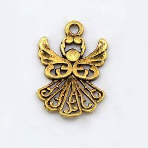 MEP63-1 angel charm/pendant - gold