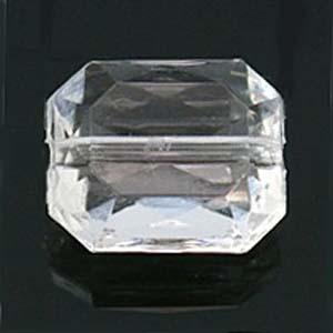 PB112 Trectangular beads - transparent colours