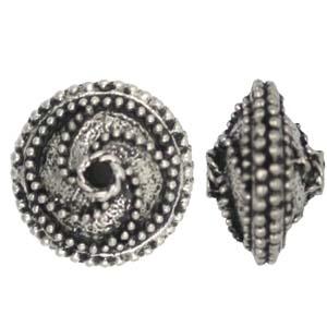 PRB28pewter bead