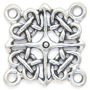 PRF18 pewter pendant or connector