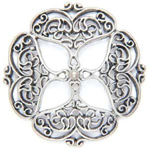 PRF34&nbsp;pewter pendant