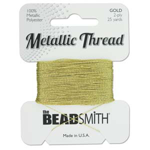 S231 gold metallic thread - gold