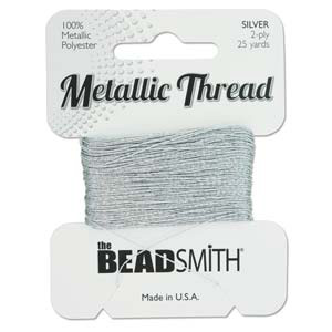 S231 silver metallic thread - silver