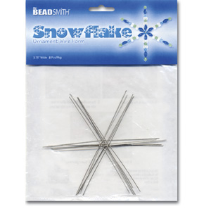 S235 Snowflake Ornament Wire Forms