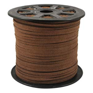 S251 lt brown faux suede cord - light brown