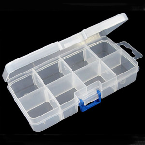 S261 bead organiser/storage container with 8 compartments