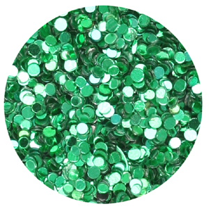 S36-18 glitter/sequin dust - emerald green