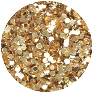 S36-1 glitter/sequin dust - gold