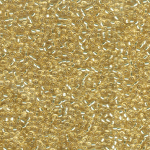 SB11J-92 Miyuki size 11 seed beads - s/l pale gold