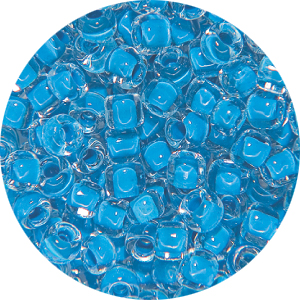 SB11 216 Matsuno seed beads - colour lined medium blue