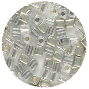 SB4-M10 Miyuki square beads - silvers mix