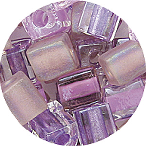SB4 Mixed Miyuki square beads - mixed colors