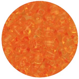 SBT-150T Czech twin seed beads, crystal solgel dyed - light topaz